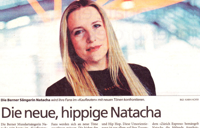 Die neue , hippige Natacha - NATACHA