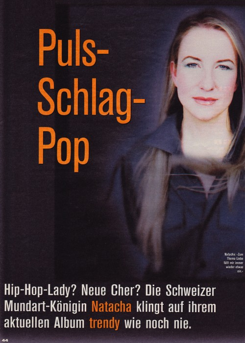 Puls - Schlag - Pop  -  NATACHA