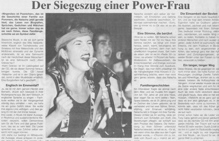 Siegeszug einer Power Frau - Bund - NATACHA